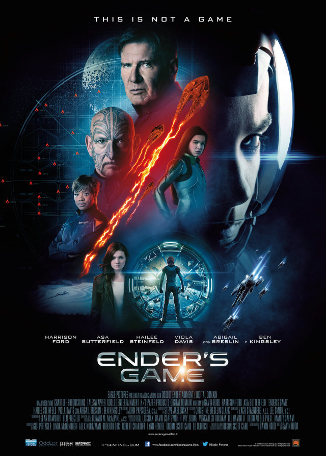 Brand New 'Ender's Game' Poster is Unveiled | Ender's Ansible